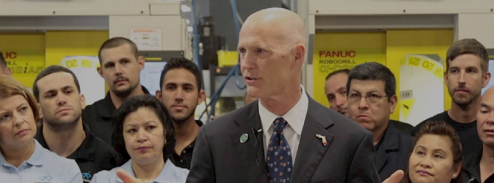 Governor Rick Scott at Azimuth